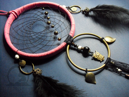 The Owl's Dream Catcher by TheInnerCat
