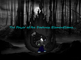 Darkness Element Stone by LeonTheSnowWolf