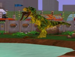 Zoo Tycoon 2  T-Rex by SSJGarfield