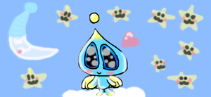adorable chao by Eviana1