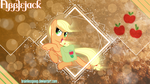 [MLP] Applejack by BrainlessPoop