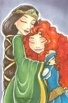 Merida and Elinor by TLSeely