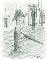 Pyramid Head by Evangelionfan