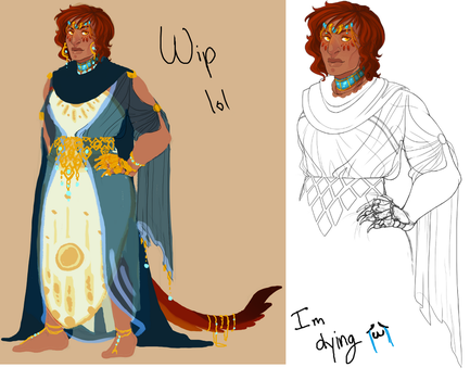WIP - Cael Ref by ashbits