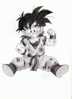 gohan by inma85