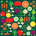 Fruits and Veggies by crowded-teeth