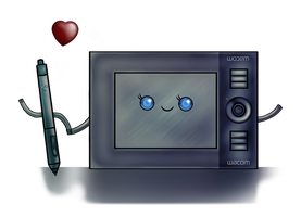 A wacom Kind of Love by goRillA-iNK
