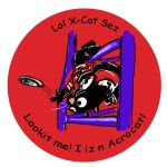 2013 LOL X-Cat Pin Design by EdGPatterson