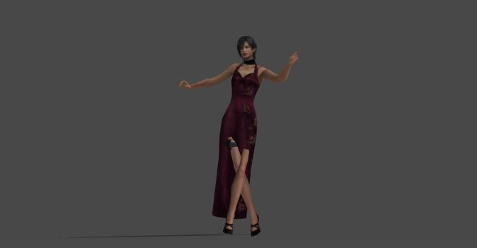 RESIDENT EVIL 4 ADA WONG FULL RIGGED REUP by Oo-FiL-oO