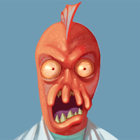 Crazed Zoidberg Avatar by aceIII