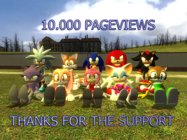 Grupal picture 10.000pageviews by kamiase