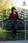 Ada Wong Resident Evil 6 cosplay X by Rejiclad