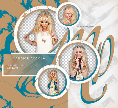 PACK PNG 650 | CANDICE ACCOLA by MAGIC-PNGS