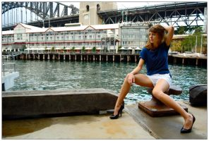 Marie - wharfside 2 by wildplaces