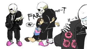 sans in suit by nogoojing