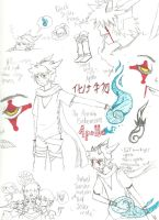 Apollo sketchdump (more or less) by The-KingofFools