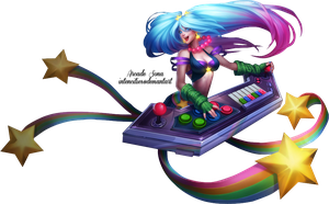 Arcade Sona Render by craftyaegis