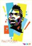 WPAP Paul Pogba by cuboxstudio