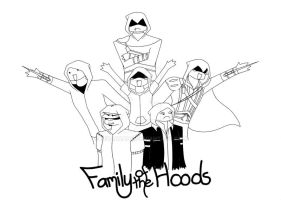 Family of the Hoods by LeoArcana