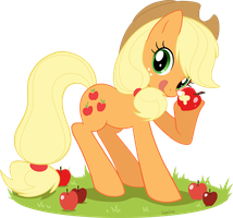 Applejack by Domi-Chan