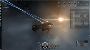 Eveonline - Facing a sun n1 by lv888