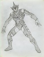 a ultraman guy by shytype001