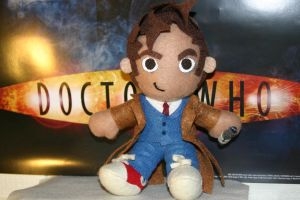 Tenth Doctor Plushie by niitsvee