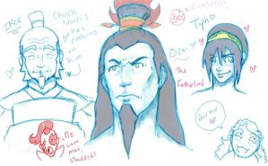 -Sketchdump- OZAI IS A BAMF. by Cherry-Soup