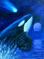 Orca cormet by Orcas-lover