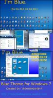 Blue Theme for Windows 7 by charmanderfan7