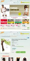 Giyim Adai E-commerce interface design by yarabandi