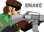 It's about time... Let's go Snake ! by Azilord
