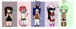 Adoptables #2 open 4/5 by yess8