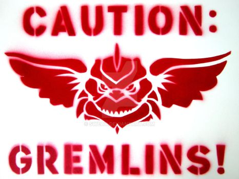 Caution: Gremlins by sweav