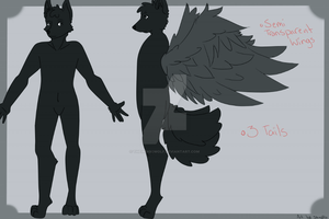 Dante Argentum | Reference Sheet by TheIndigoWolf
