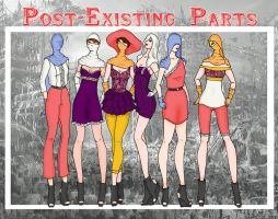 Post-Existing Parts by lillygurl678
