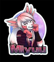 Badge Commission: Miyuu by SilverDeni
