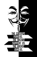 The Corrupt Fear Us by OpPaperStorm