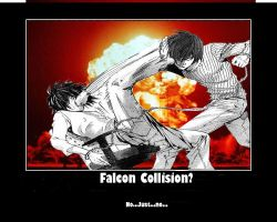 Falcon.....Collision? by Grahf-Z