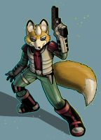 starfox fan art by missmonster
