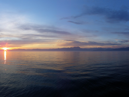 Sunset at Lake Garda by sheiruki
