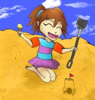 Molly at the beach by Cubed1