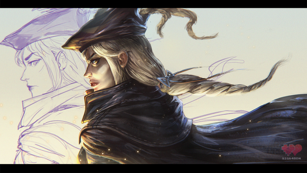Lady Maria of the Astral Clocktower process vid. by Siga4BDN