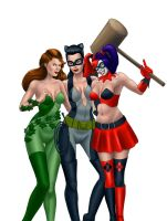 Bat girls by atdoodle