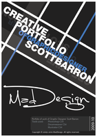 Portfolio Cover 2010 by MadDesign