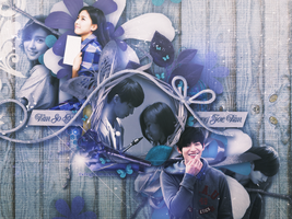 [GRAPHICS] Kim So Eun + Song Jae Rim I by thebrightflame