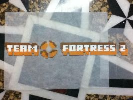 -Perler- Team Fortress 2 Logo by OtakuLuka