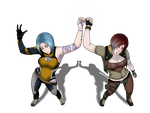 Maya And Lilith- BRUH :Complete: by tdgART