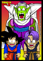 Piccolo Trunks y Goten Color 1 by Sauron88