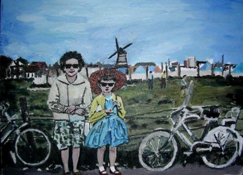 Rie and Rita in Holland by fabfleur